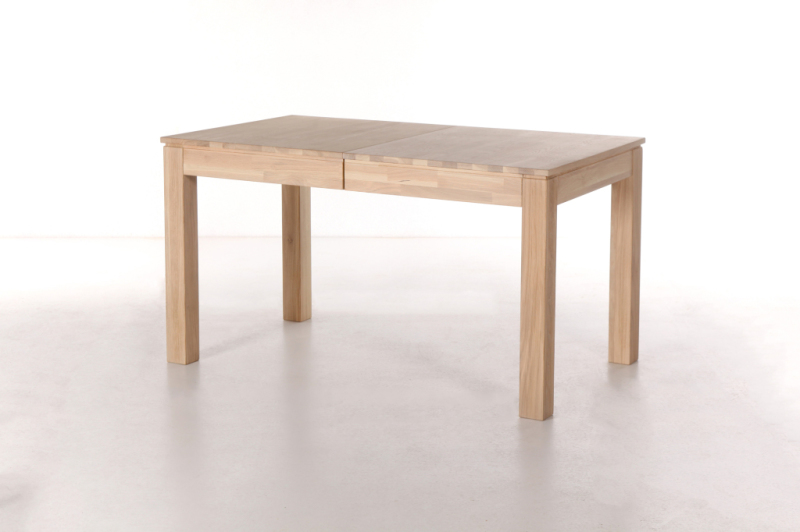 Table extensible 140 x 80 cm rafael - Table salle a manger 140 x 80 ...