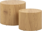 Lot de 2 tables basses MICE