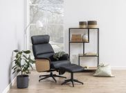 Fauteuil relax avec repose-pied ALURA