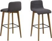 Lot de 2 tabourets de bar AROSA