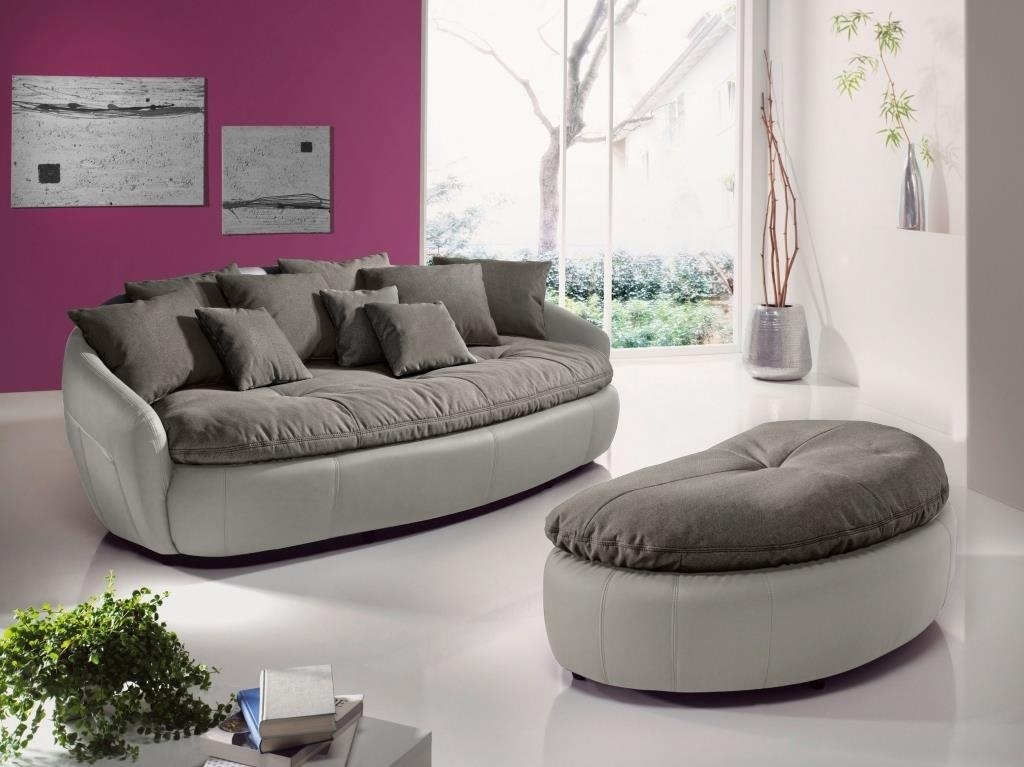 canap xxl avec pouf aruba ii light beige l phant sb. Black Bedroom Furniture Sets. Home Design Ideas