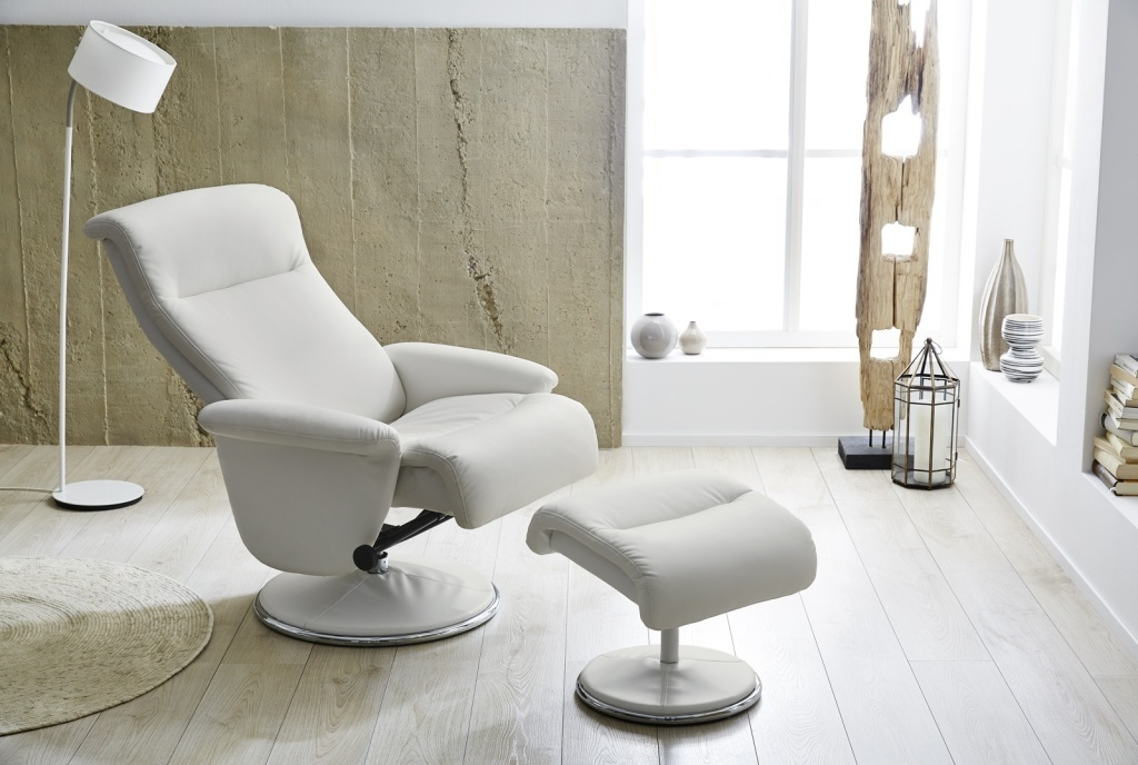 Meubles Discount Repose Ton Relax Avec Ricarda Fauteuil Pied BlancSb gbf67y