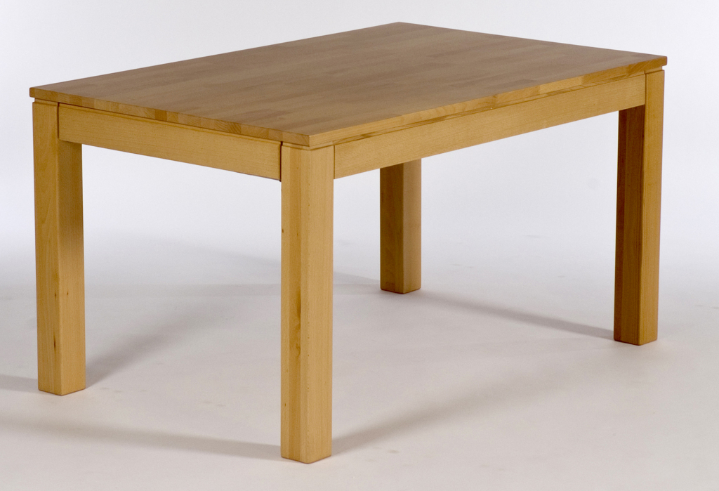 Table de salle manger 140 x 90 cm toby h tre naturel for Table de salle a manger 140 cm