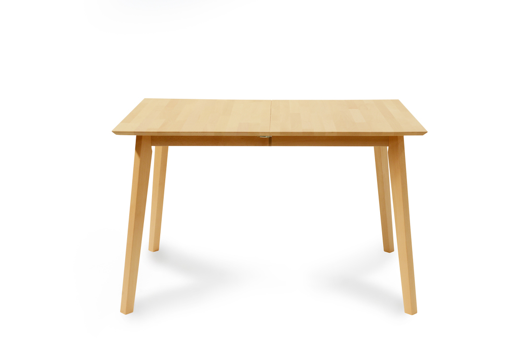 table extensible 140 x 80 cm vinko h tre naturel laqu
