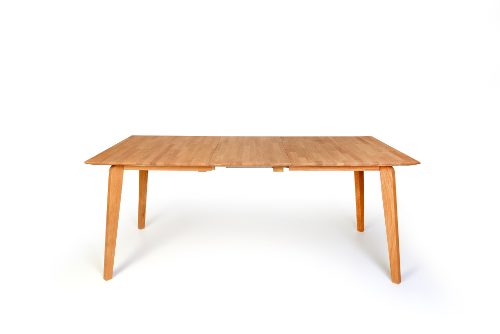 Table extensible 140 x 90 cm liam 1xl coeur de h tre sb for Table 140 cm extensible