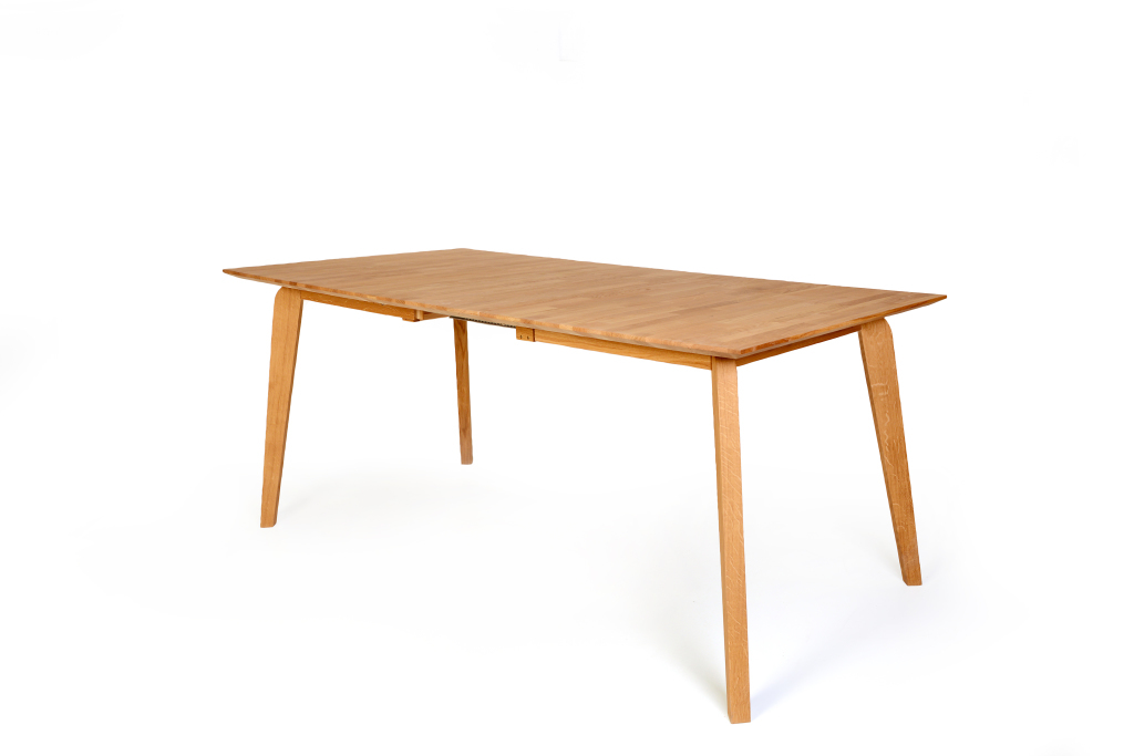Table extensible 140 x 90 cm liam 1xl coeur de h tre sb for Table cuisine 140 x 90