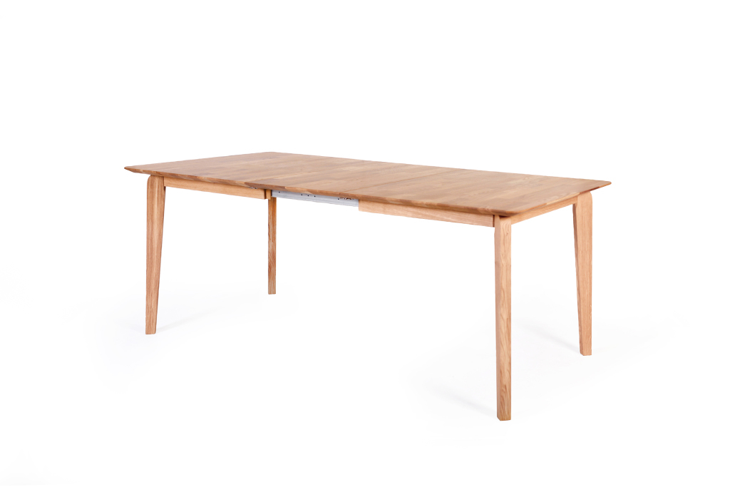 Table extensible 140 x 90 cm liam 1xl ch ne naturel sb for Table cuisine 140 x 90
