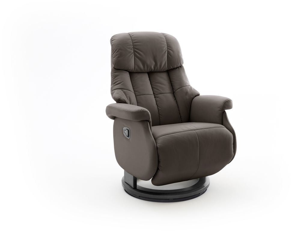 fauteuil relax calgary comfort ton marron noir sb meubles discount. Black Bedroom Furniture Sets. Home Design Ideas